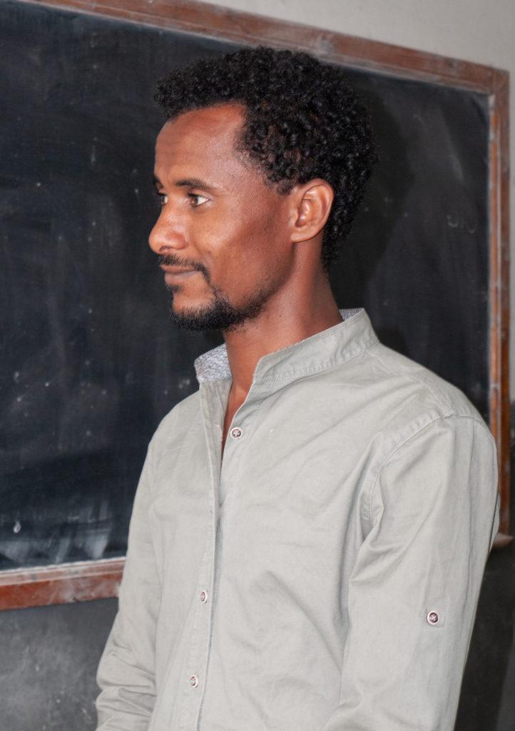 Teacher at the Green Flower Foundation Farm.